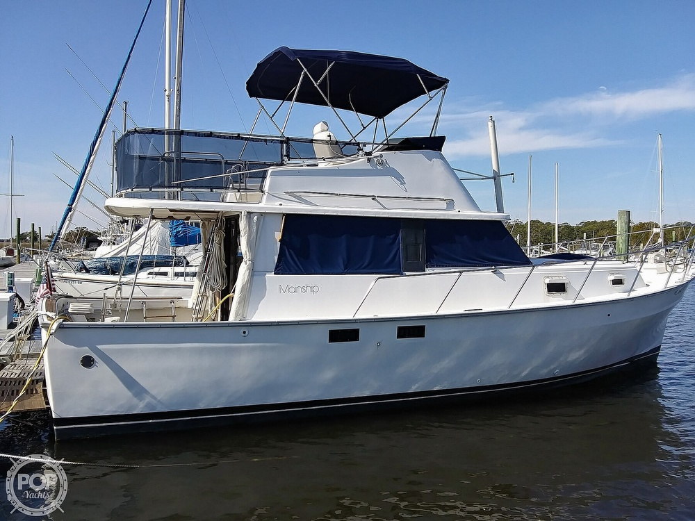 1981 Mainship boat for sale, model of the boat is 34 & Image # 16 of 40