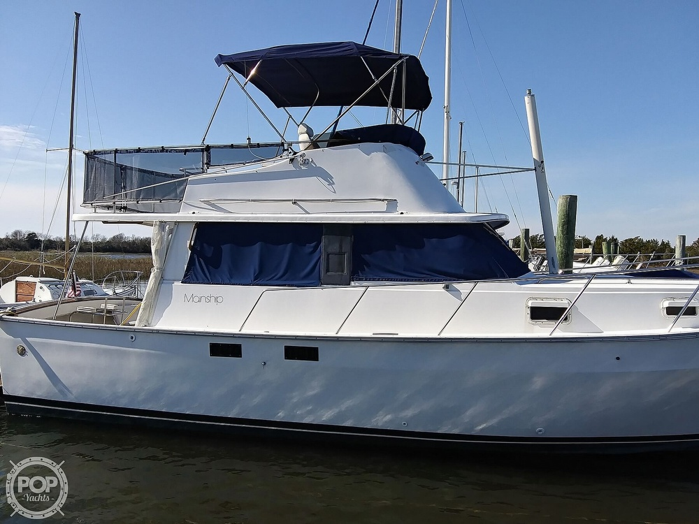 1981 Mainship boat for sale, model of the boat is 34 & Image # 18 of 40