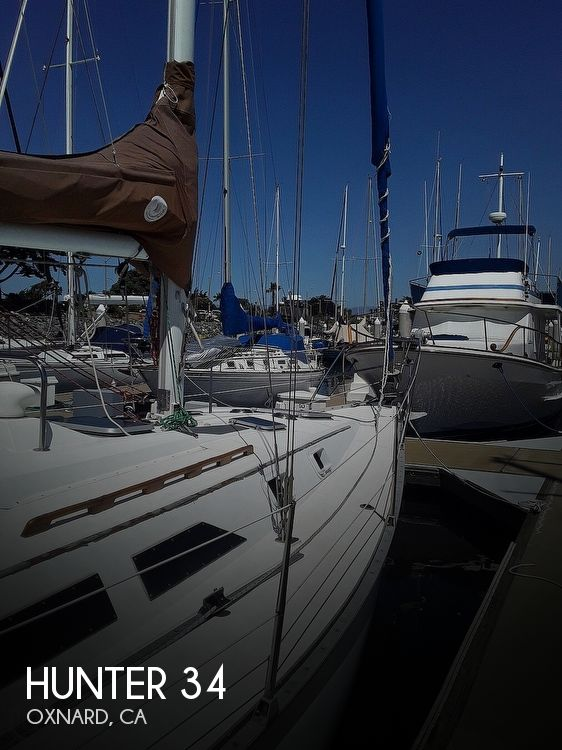 Used Hunter Sailboats For Sale in California by owner | 1986 Hunter 34