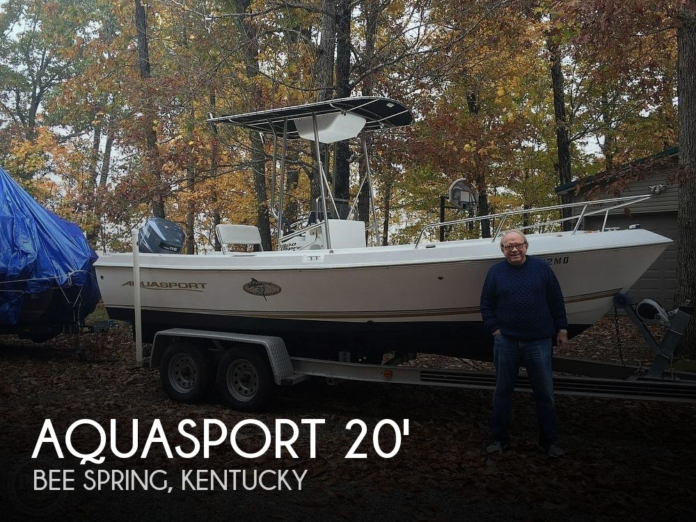 Used Boats For Sale in Indiana by owner | 2002 Aquasport 19