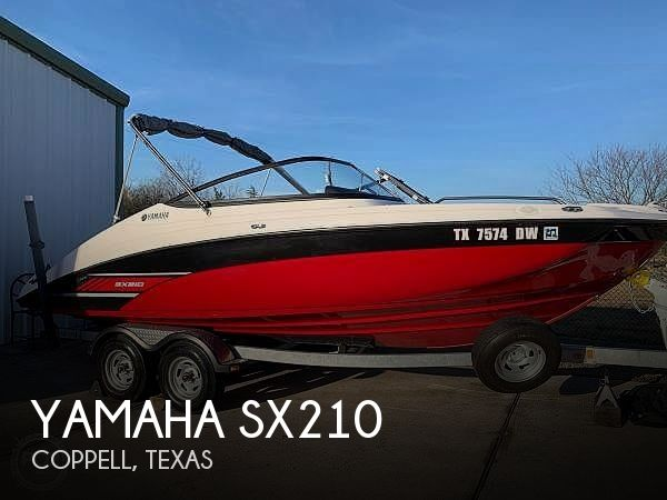 Used Yamaha Boats For Sale in Texas by owner | 2017 Yamaha SX210