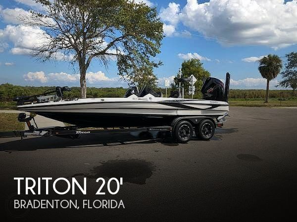 Used Triton  Boats For Sale by owner | 2019 20 foot Triton TRX Patriot Elite