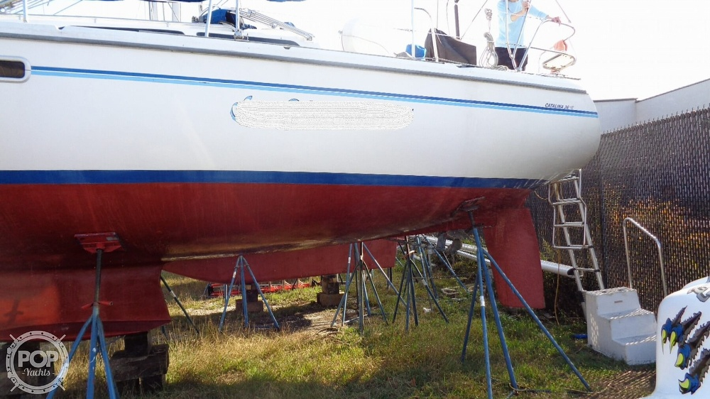 1996 Catalina Yachts boat for sale, model of the boat is 36WK MKII & Image # 21 of 40