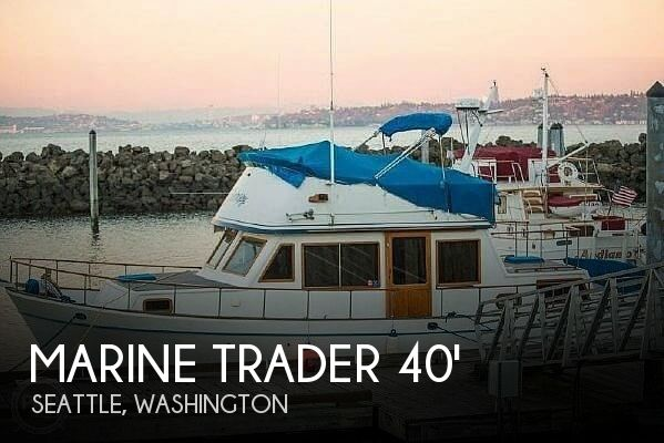 Used Marine Trader Boats For Sale by owner | 1981 40 foot Marine Trader LaBelle
