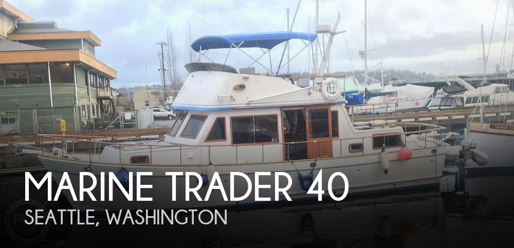 1981 Marine Trader boat for sale, model of the boat is LaBelle 40 & Image # 1 of 40