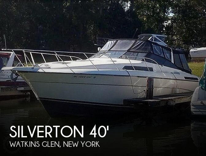 Used Boats For Sale in Binghamton, New York by owner | 1989 Silverton 40X