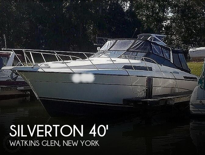 1989 Silverton boat for sale, model of the boat is 40X Express & Image # 1 of 40