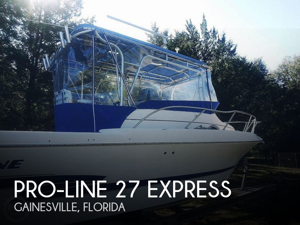 2000 Pro-Line boat for sale, model of the boat is 27 Express & Image # 1 of 20