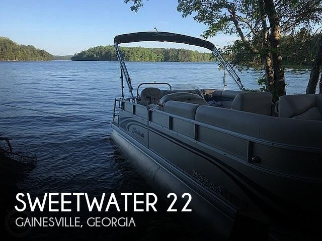 Used Pontoon Boats For Sale in Georgia by owner | 2014 Sweetwater 22