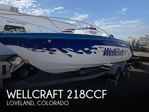 Used Boats For Sale in Cheyenne, Wyoming by owner | 1995 Wellcraft 218CCF