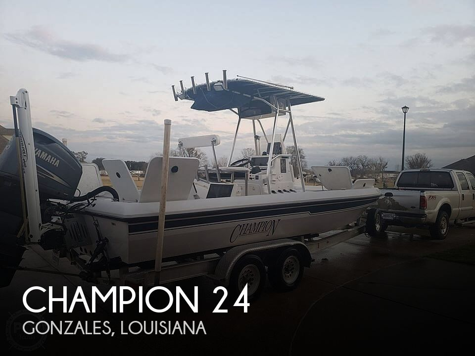 2004 Champion boat for sale, model of the boat is 24 Bay Champ & Image # 1 of 40
