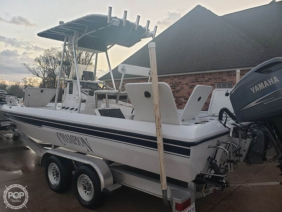 2004 Champion boat for sale, model of the boat is 24 Bay Champ & Image # 6 of 40