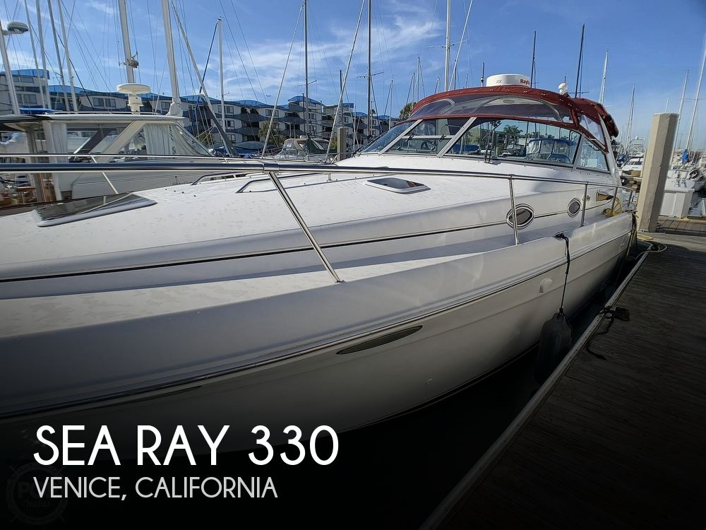 1998 Sea Ray boat for sale, model of the boat is 330 Sundancer & Image # 1 of 40