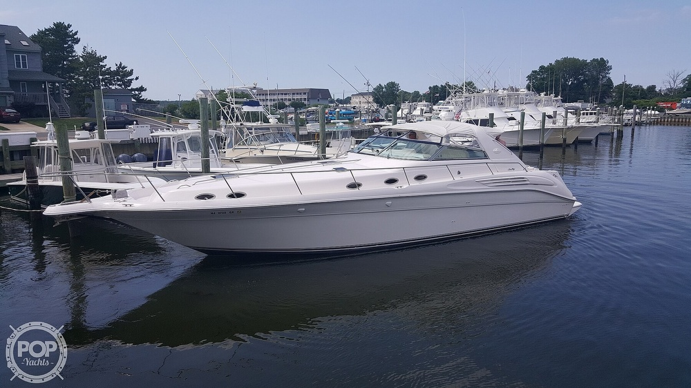 1996 Sea Ray boat for sale, model of the boat is 450 Sundancer & Image # 2 of 40