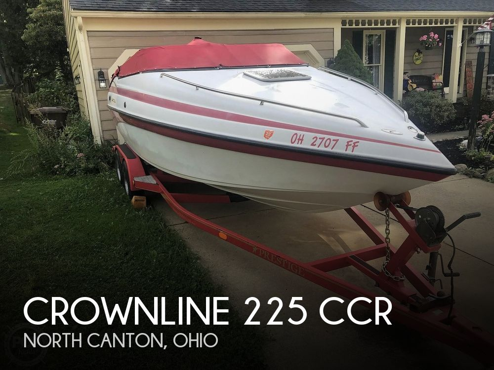 Used Crownline Boats For Sale in Ohio by owner | 2001 Crownline 225