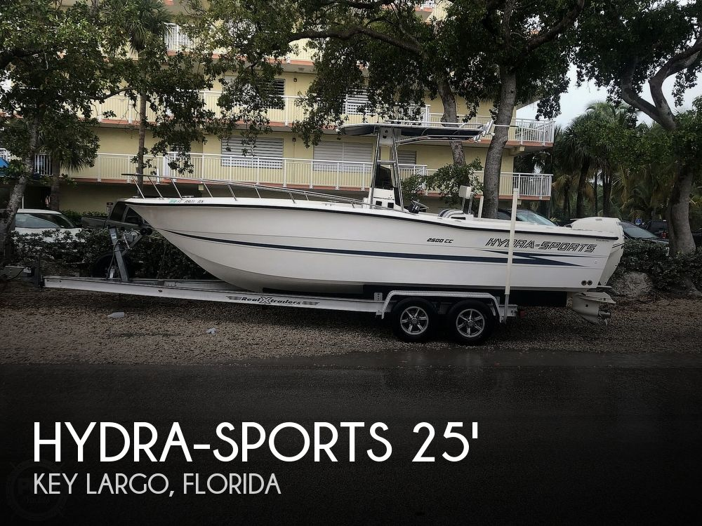 1990 Hydra-Sports boat for sale, model of the boat is 2500cc & Image # 1 of 6