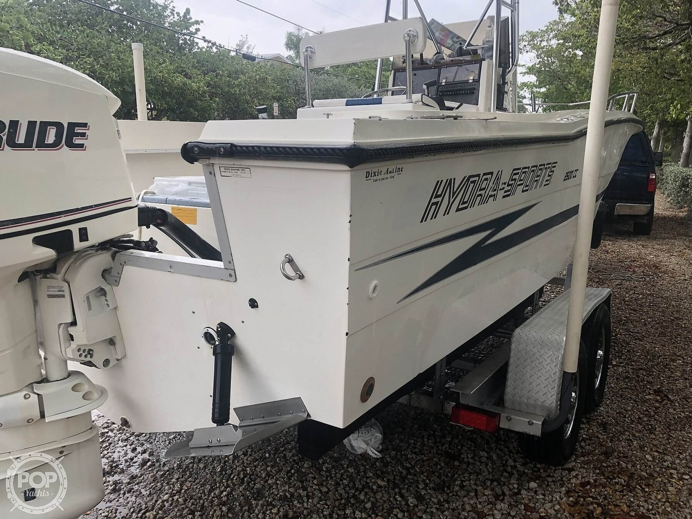 1990 Hydra-Sports boat for sale, model of the boat is 2500cc & Image # 3 of 6