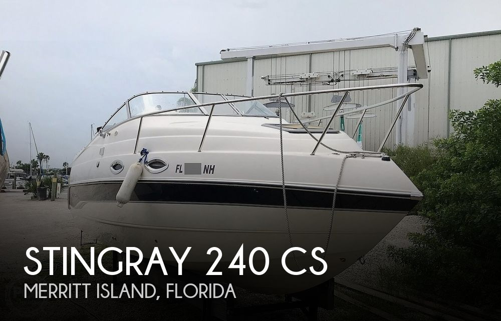 2006 Stingray boat for sale, model of the boat is 240 CS & Image # 1 of 40
