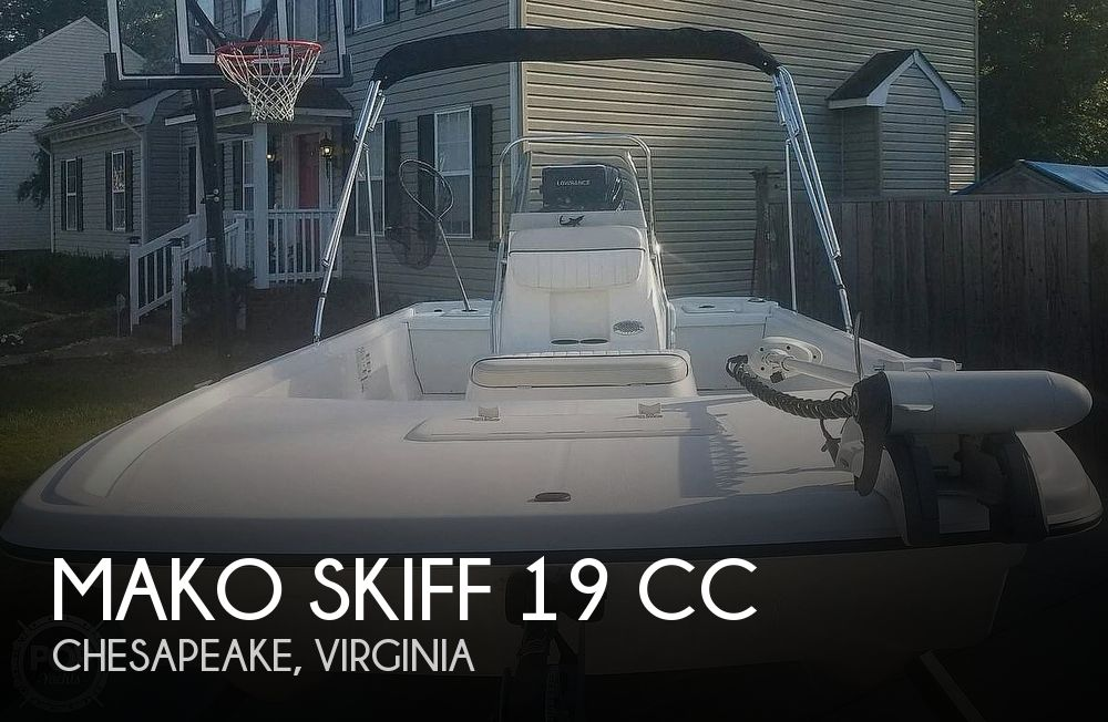 2017 MAKO SKIFF 19 CC for sale