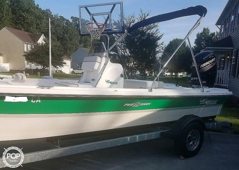 2017 Mako boat for sale, model of the boat is Skiff 19 CC & Image # 2 of 15