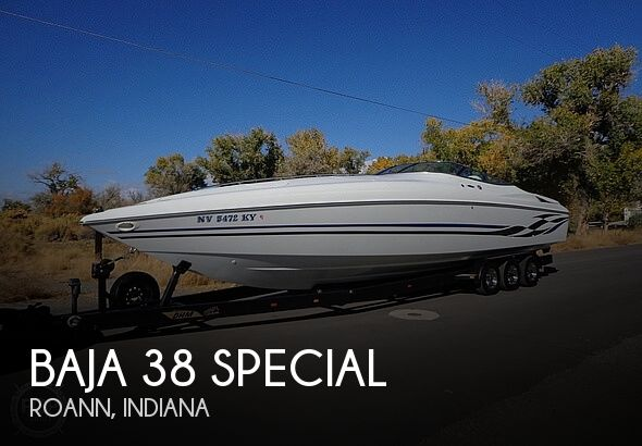 Used Boats For Sale in South Bend, Indiana by owner | 1998 Baja 38 Special