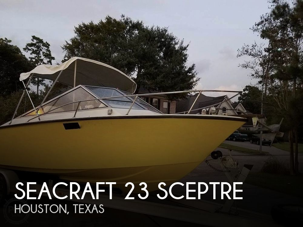 1977 Seacraft boat for sale, model of the boat is 23 SCEPTRE & Image # 1 of 40