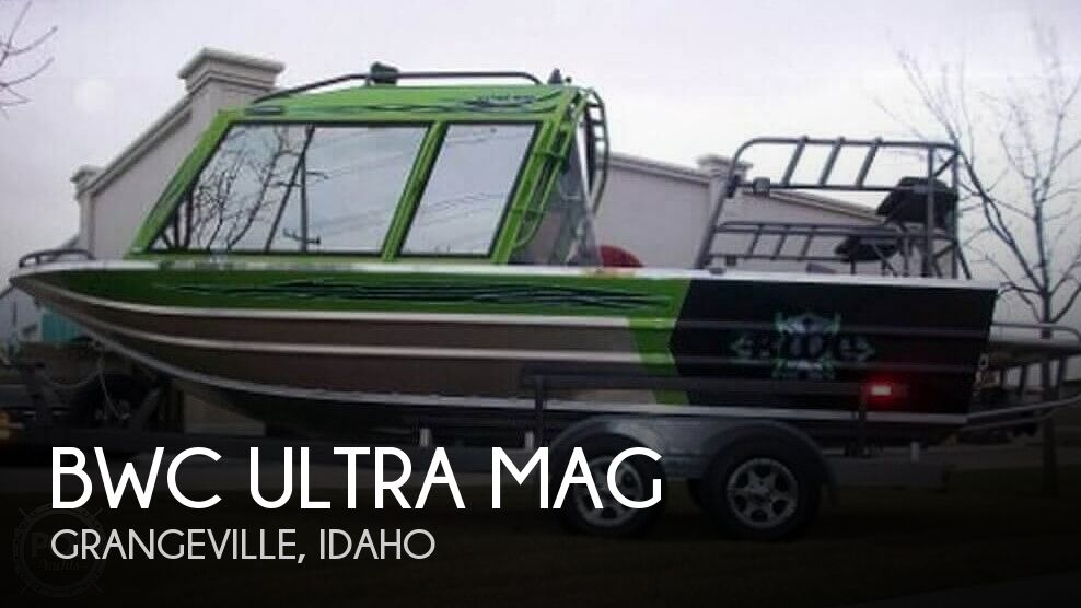Used Boats For Sale in Idaho by owner | 2013 22 foot BWC Ultra Mag