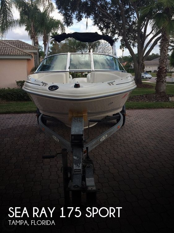 Used Sea Ray 175 Sport Boats For Sale by owner | 2006 Sea Ray 175 Sport