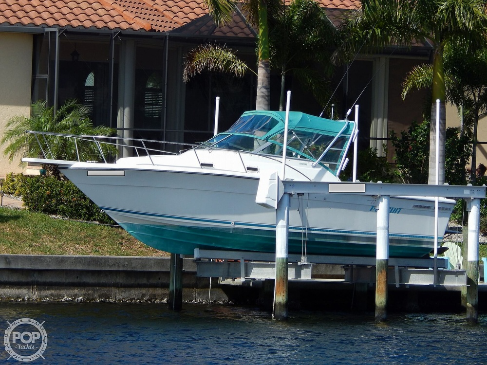 1992 Pursuit boat for sale, model of the boat is 2650 Cuddy Cabin & Image # 6 of 40