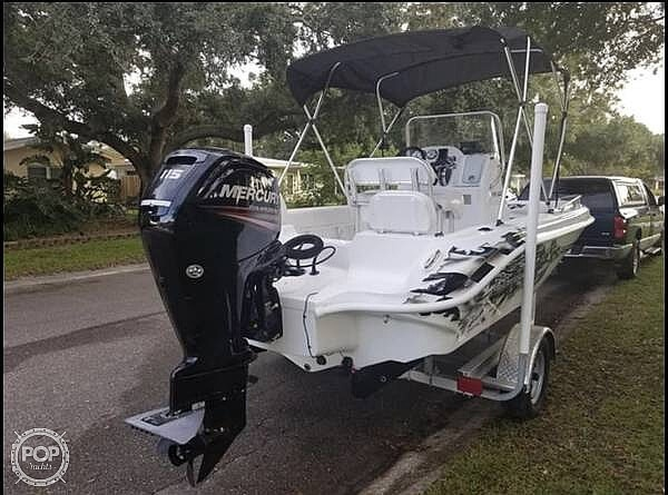 2017 Glasstream boat for sale, model of the boat is 192 & Image # 5 of 15