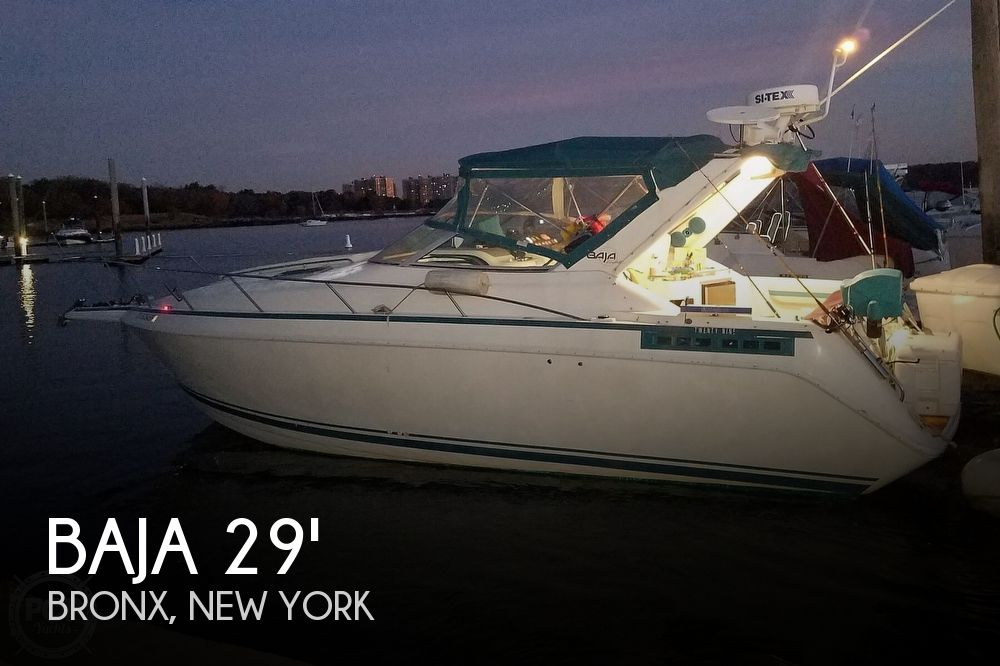 1992 Baja boat for sale, model of the boat is Express Twenty Nine & Image # 1 of 40
