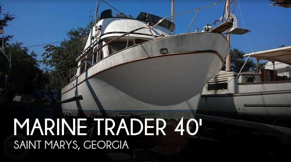 Used Marine Trader Boats For Sale by owner | 1976 Marine Trader 40 Double Cabin