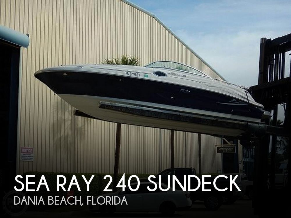 Used Sea Ray 240 sundeck Boats For Sale by owner | 2006 Sea Ray 240 Sundeck