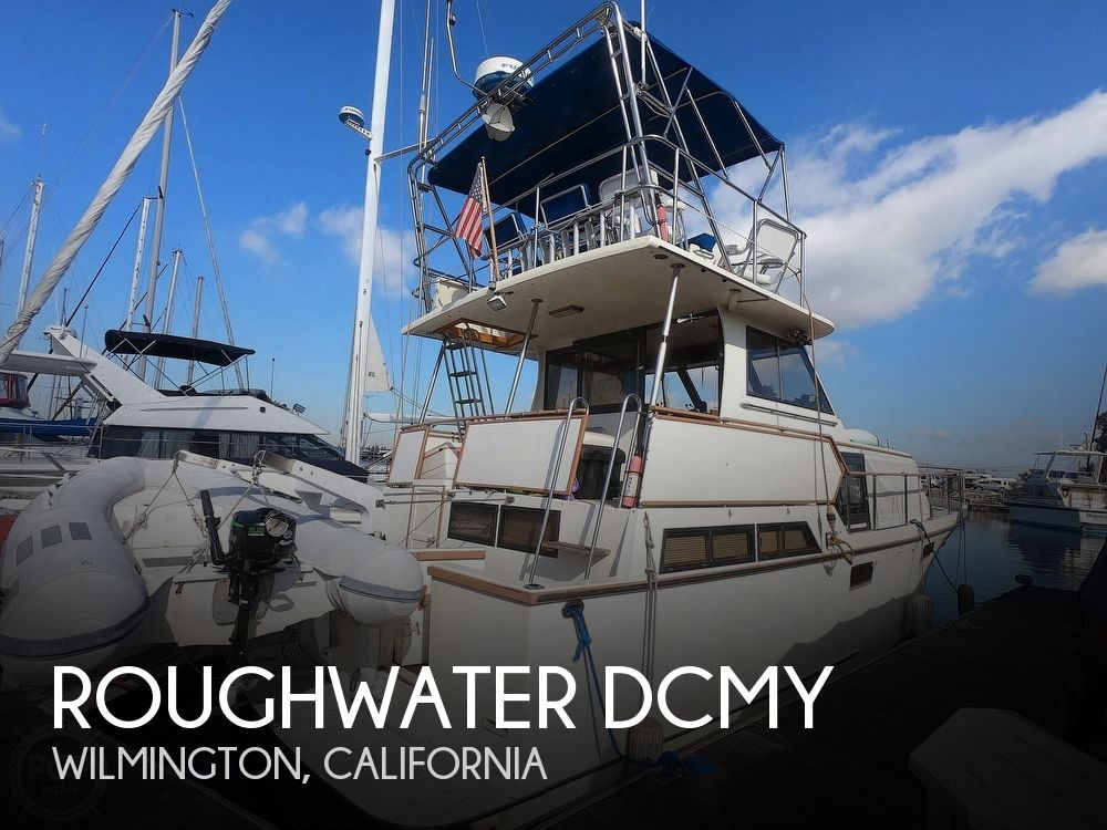 Used Roughwater Boats For Sale by owner | 1986 42 foot Roughwater DCMY