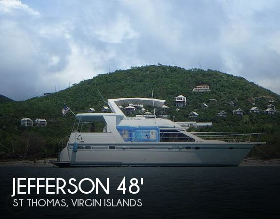 Used Jefferson Boats For Sale by owner | 2000 Jefferson 48