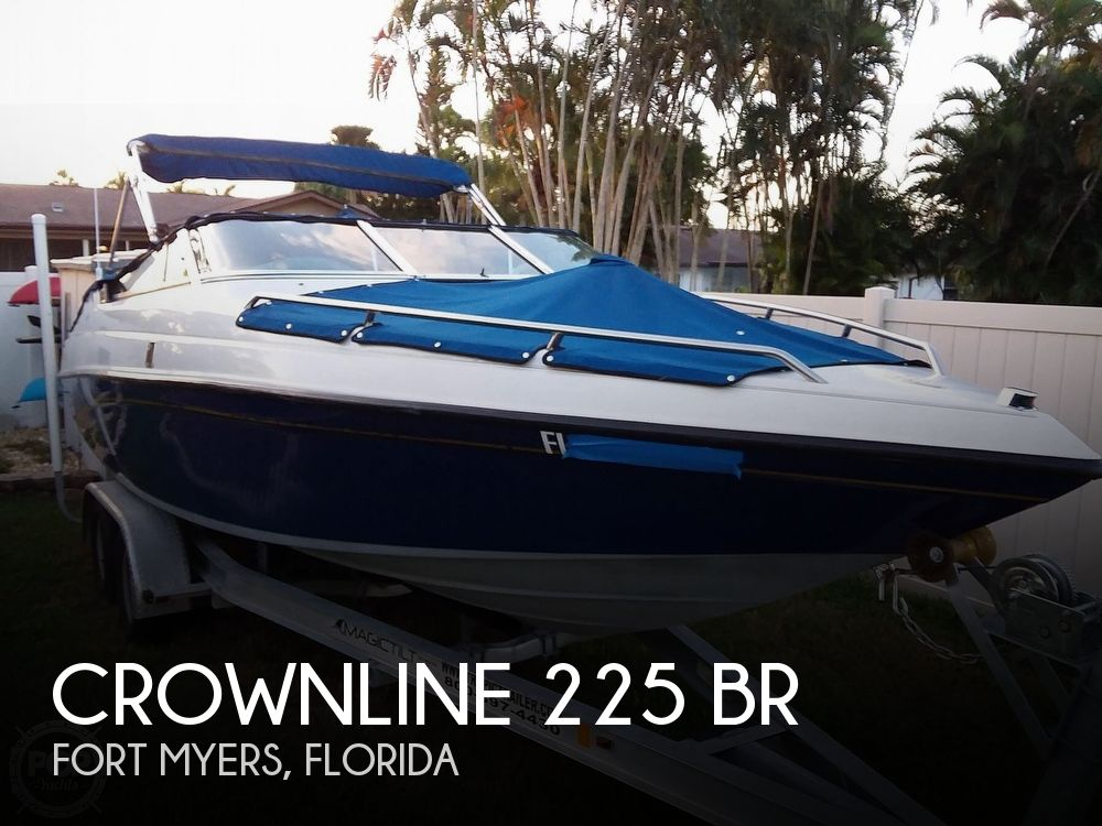 1992 CROWNLINE 225 BR for sale