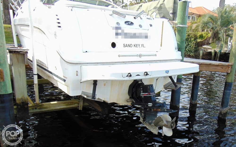 2001 Sea Ray boat for sale, model of the boat is 260 Sundancer & Image # 24 of 40