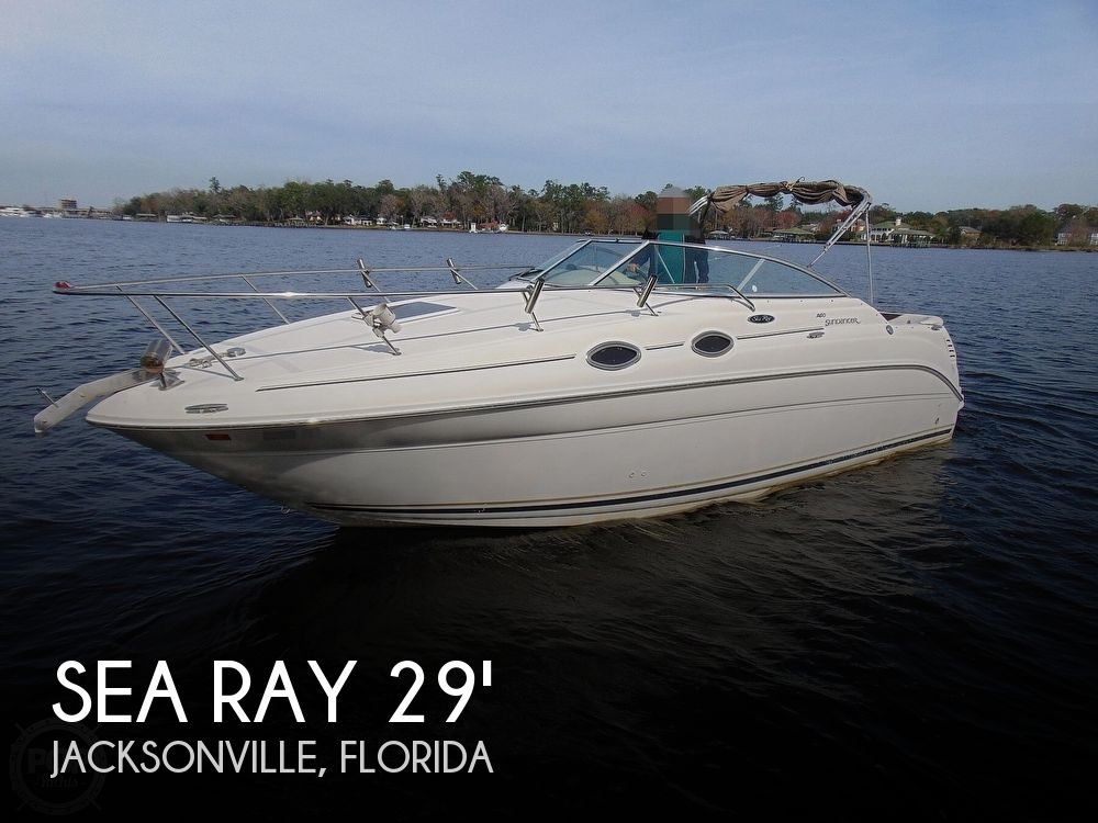 2001 Sea Ray boat for sale, model of the boat is 260 Sundancer & Image # 1 of 40