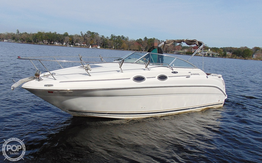 2001 Sea Ray boat for sale, model of the boat is 260 Sundancer & Image # 11 of 40