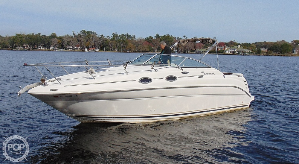 2001 Sea Ray boat for sale, model of the boat is 260 Sundancer & Image # 12 of 40