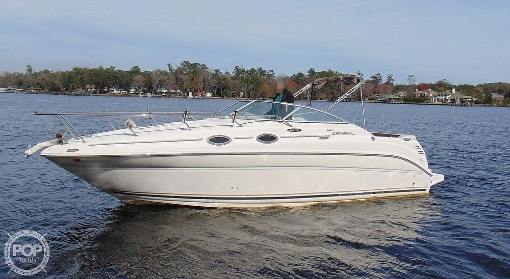 2001 Sea Ray boat for sale, model of the boat is 260 Sundancer & Image # 13 of 40