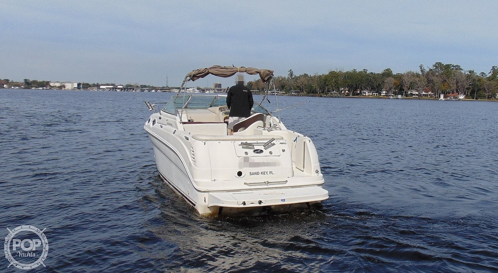 2001 Sea Ray boat for sale, model of the boat is 260 Sundancer & Image # 15 of 40