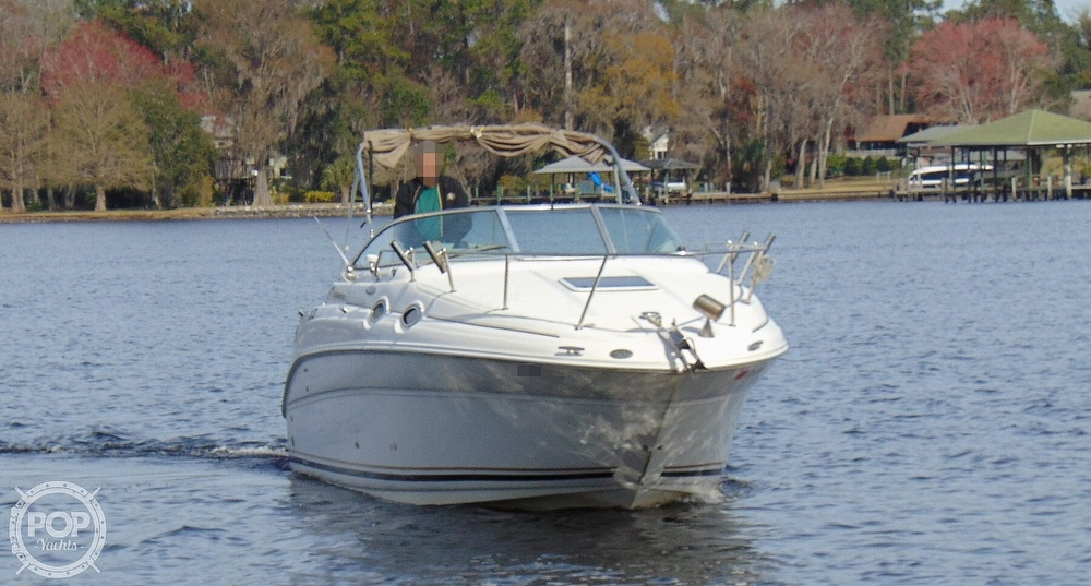 2001 Sea Ray boat for sale, model of the boat is 260 Sundancer & Image # 21 of 40