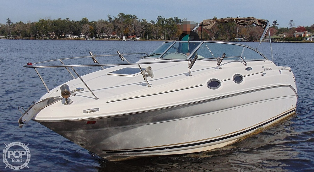 2001 Sea Ray boat for sale, model of the boat is 260 Sundancer & Image # 22 of 40