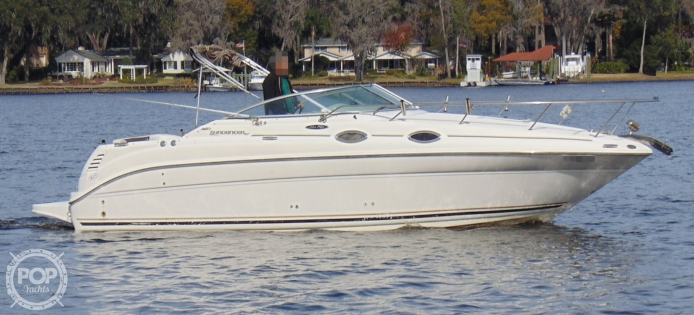 2001 Sea Ray boat for sale, model of the boat is 260 Sundancer & Image # 23 of 40