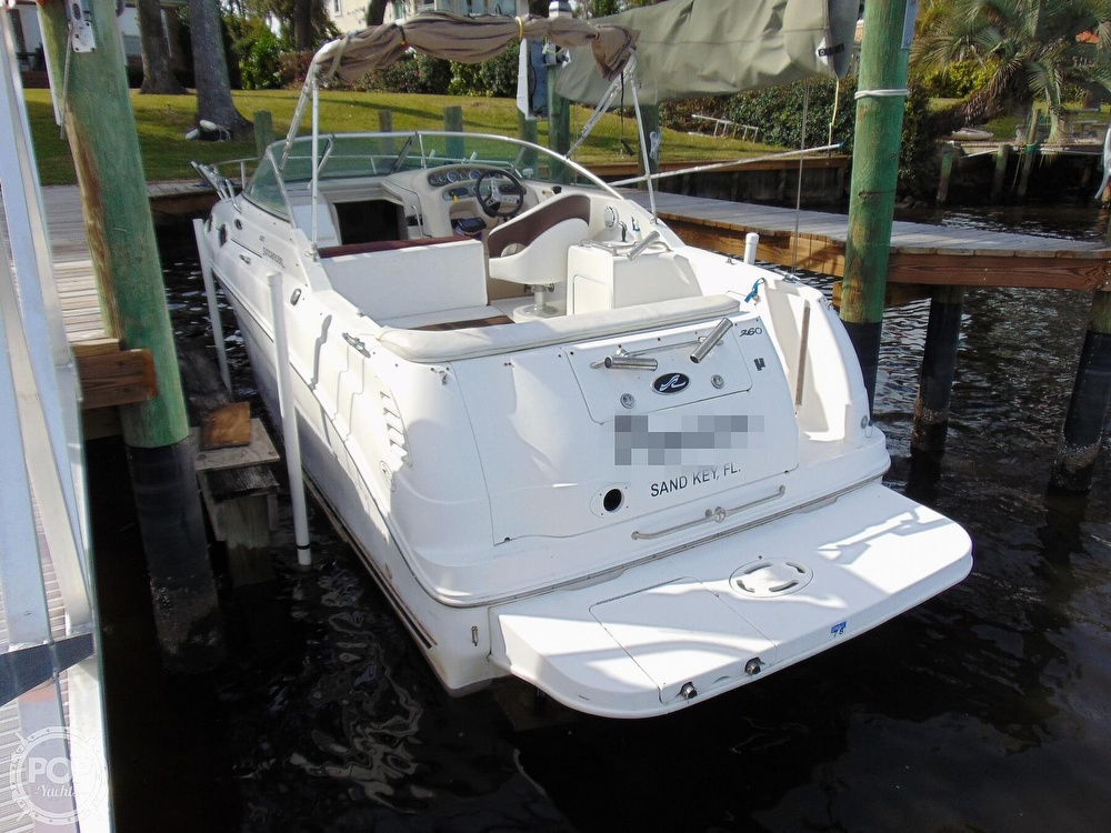 2001 Sea Ray boat for sale, model of the boat is 260 Sundancer & Image # 27 of 40