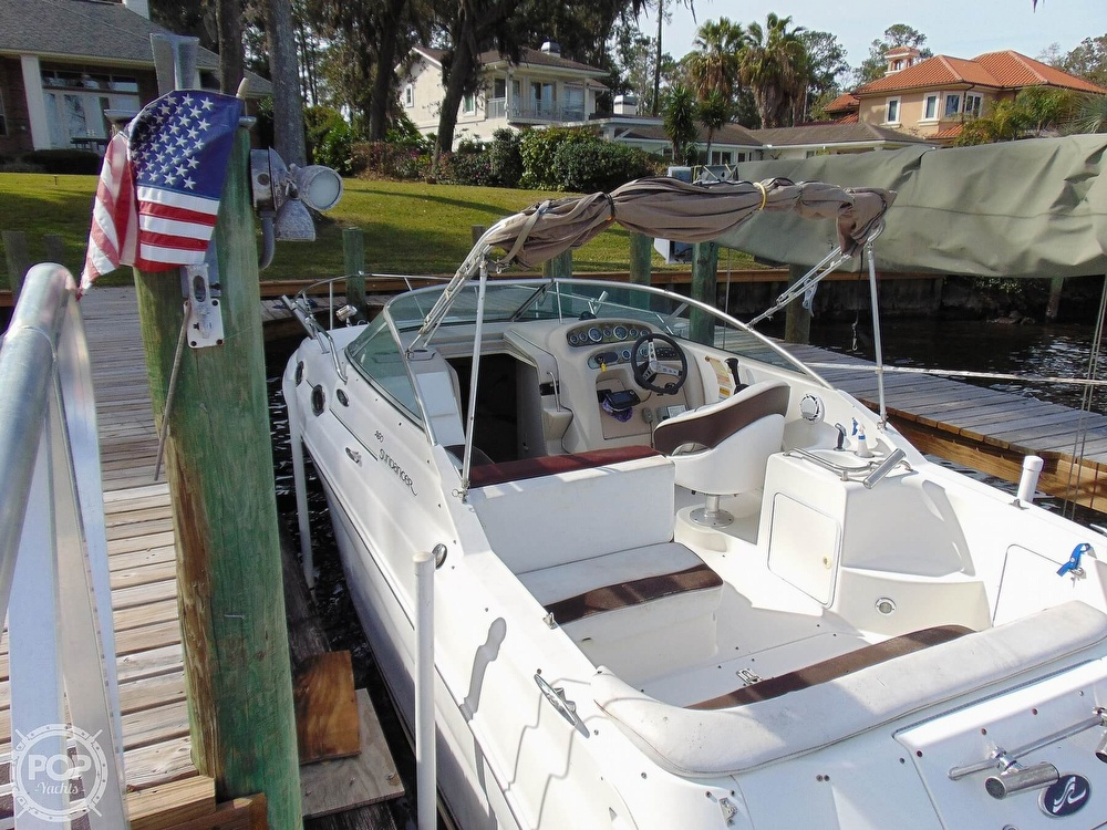 2001 Sea Ray boat for sale, model of the boat is 260 Sundancer & Image # 28 of 40