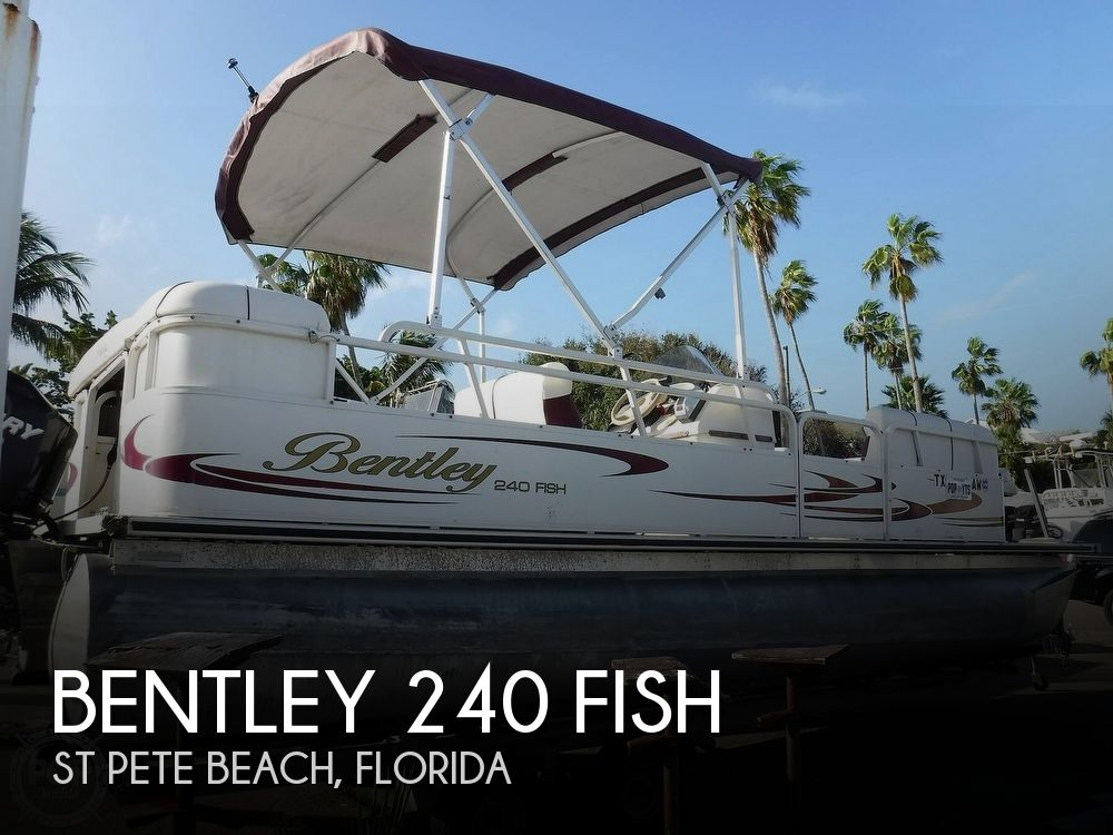 Used BENTLEY Pontoon Boats For Sale by owner | 2006 Bentley 240 Fish