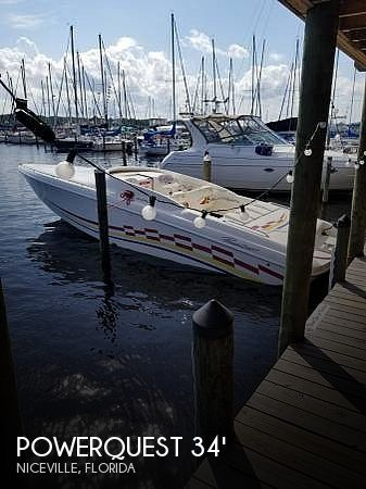 Used Powerquest Boats For Sale by owner | 1999 Powerquest 340