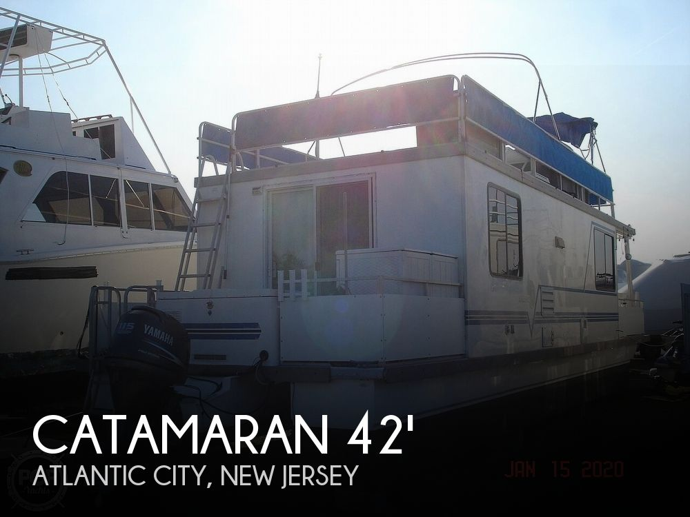 2007 Catamaran boat for sale, model of the boat is 42 Vagabond & Image # 1 of 40
